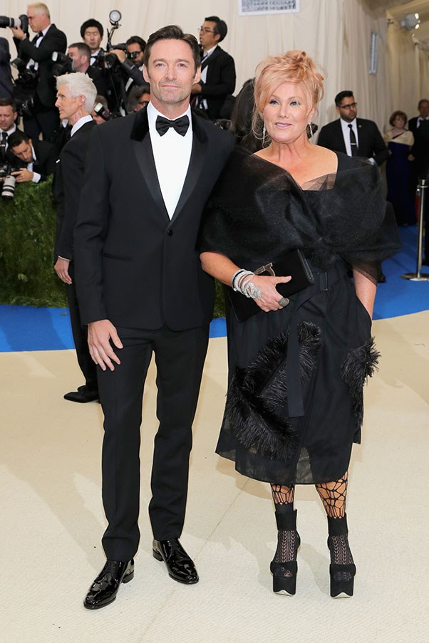 Hugh Jackman and Deborah Lee Furness.
