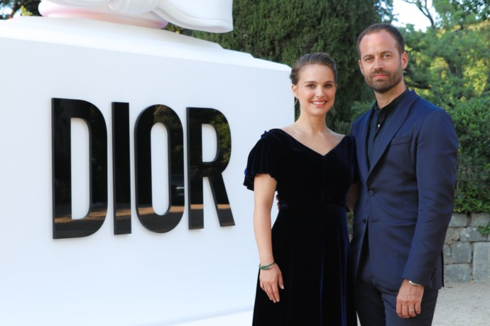 Natalie Portman and Benjamin Millepied.