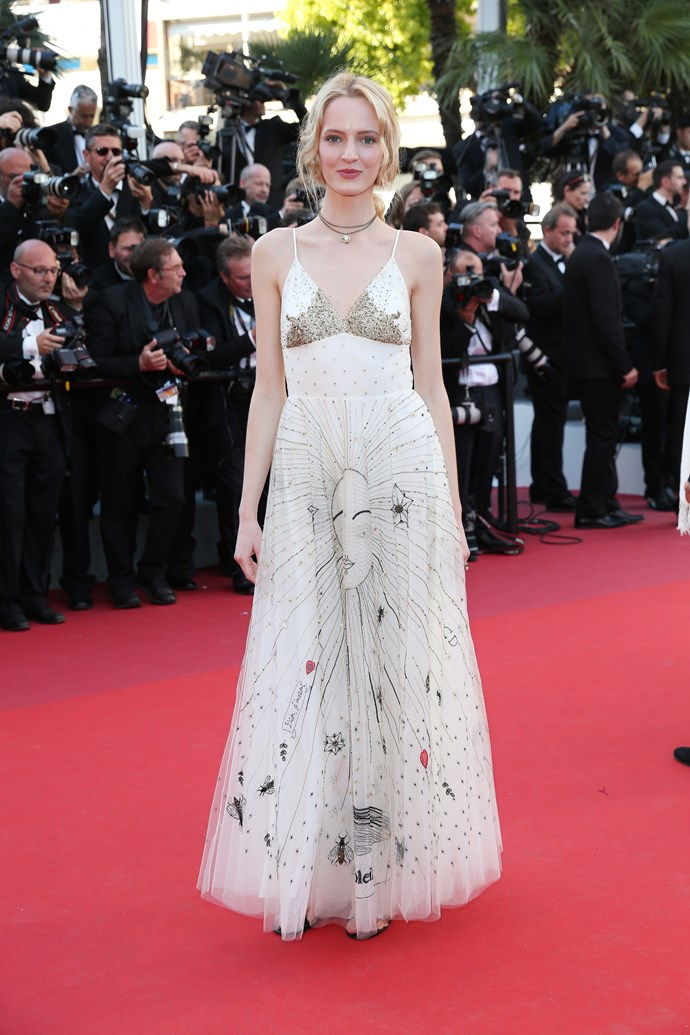 Daria Strokouz in Dior.