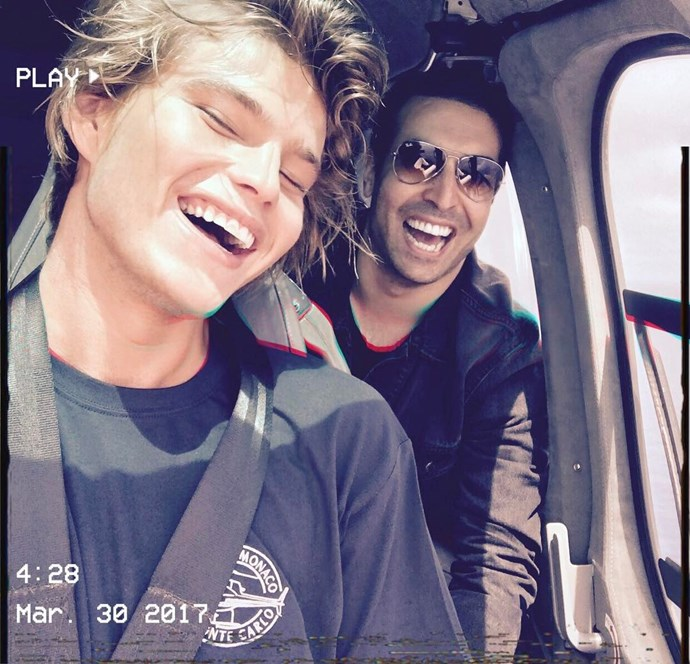Mohammed Al Turki and Jordan Barrett.