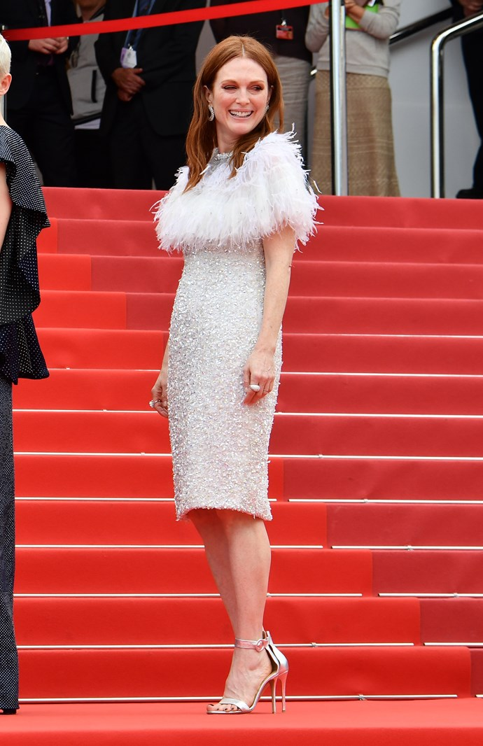 Julianne Moore in Chanel Couture.