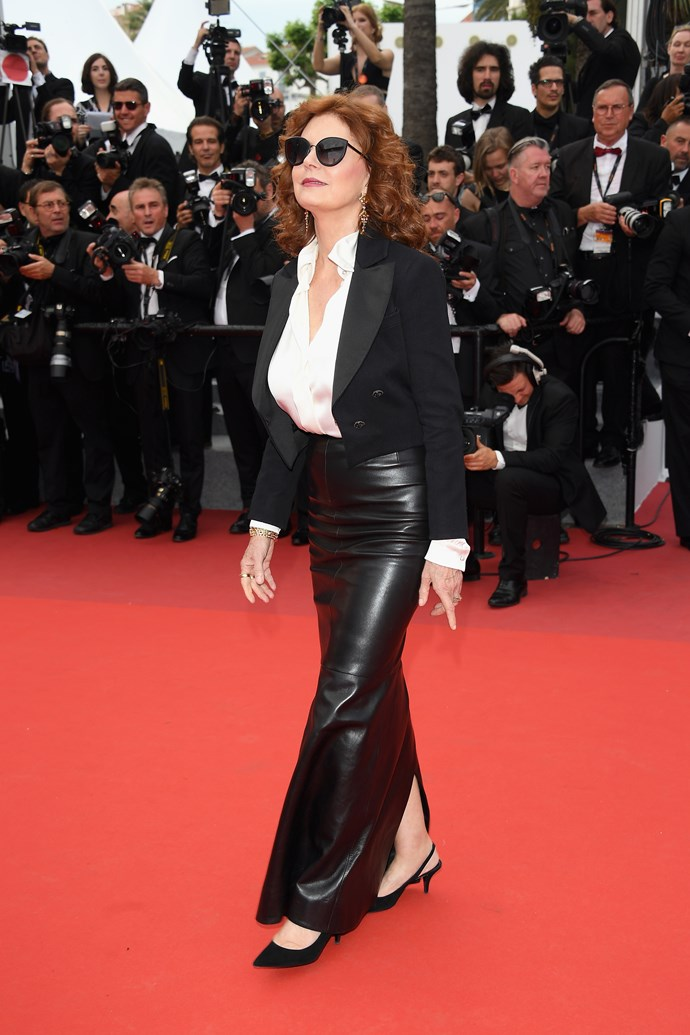 Susan Sarandon in Chanel.