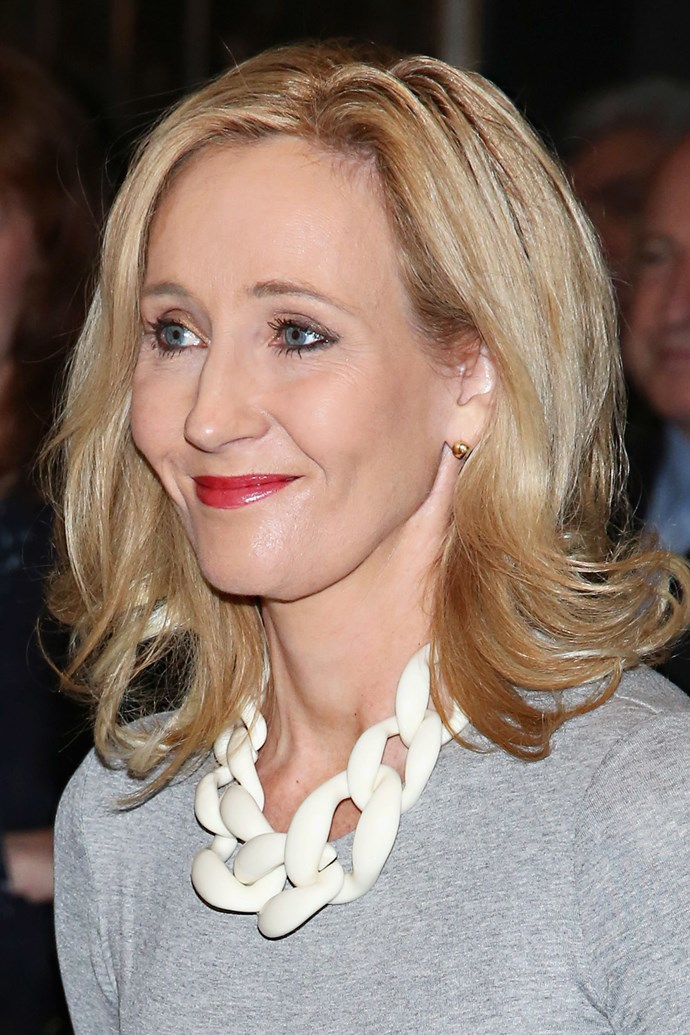 "<strong>JK Rowling</strong><p> ""Sadness is not a bad thing. You know. To cry and to feel. But it's that cold absence of feeling... that really hollowed-out feeling. That's what the Dementors are. And it was because of my daughter that I went and got help"", Rowling told *[Oprah]*(http://www.oprah.com/oprahshow/The-Brilliant-Mind-Behind-Harry-Potter