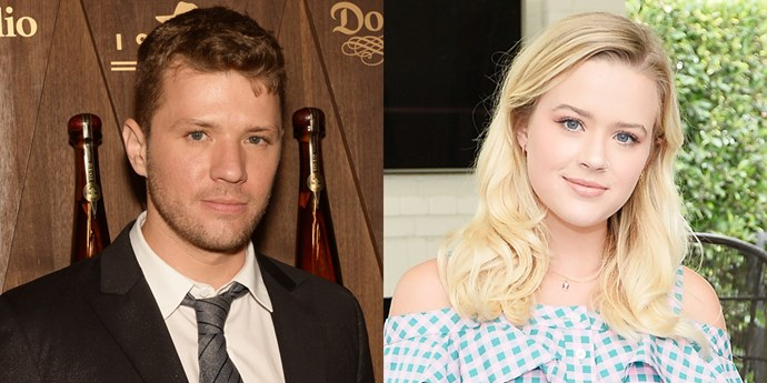 **Ryan Phillippe and Ava Phillippe**