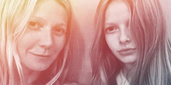 **Gwyneth Paltrow and Apple Martin**