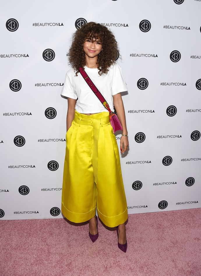 Attending the 5th Annual Beautycon Festival, August 2017.