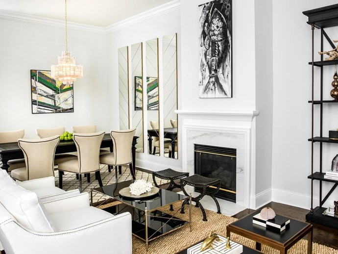 "**FORMAL LIVING & DINING** <br><br> *Design by [Brynn Olson Design Group]( https://deringhall.com/interior-designers/brynn-olson-design-group|target=""_blank"").*"