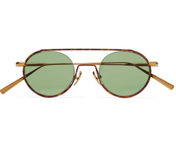 Acne Studios Round-frame Acetate and Gold-Tone Sunglasses, $500, at [Net-A-porter](https://www.net-a-porter.com/au/en/product/814626/Acne_Studios/winston-round-frame-acetate-and-gold-tone-sunglasses).