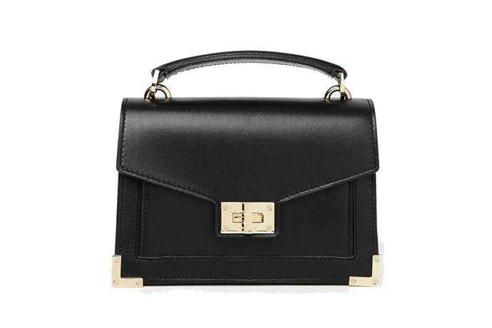 Bag, $495, Emily Ratajowski for Kooples at [The Kooples](https://www.thekooples.com.au/iconic-emily-bag-mini) <br><Br> **Compartments:** Three, plus a coin purse.