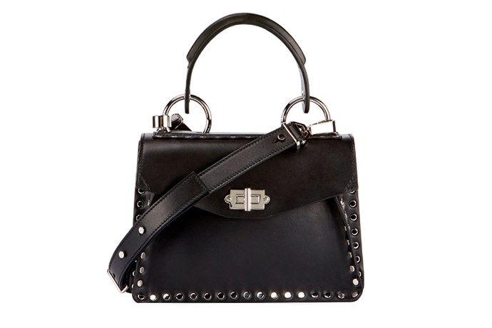 Bag, $2,455, Proenza Schouler at [Neiman Marcus](http://rstyle.me/n/cshbxdvs36) <br><Br> **Compartments:** Two, plus an interior pocket and exterior zip pocket.