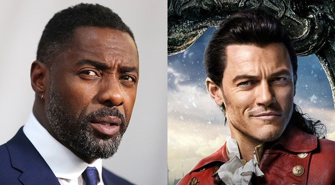 "Idris Elba was, surprisingly, prepping his pipes for the live-action remake of Disney's *Beauty and the Beast*. When speaking to *[People](http://people.com/movies/idris-elba-reveals-he-auditioned-to-play-gaston-in-beauty-and-the-beast/)*, he said: ""I honestly love musicals. I auditioned for *Beauty and the Beast*. I really did, for Gaston. I called and said, 'Listen, I want in!' and they were like, '...okay'.  <BR> <BR> So somewhere they have a tape of me singing."" Obviously, the role of Gaston ended up going to Luke Evans, which Elba jokingly said he only resents him for ""a little bit"", before quickly following it up with, ""I love you Luke, you know that."" Now all that's left to do is find that tape..."