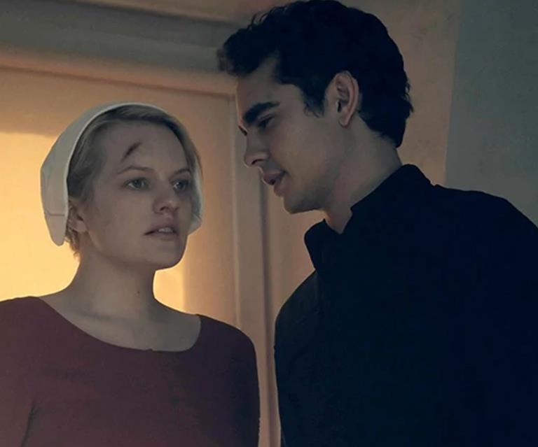 Image result for nick the handmaid's tale