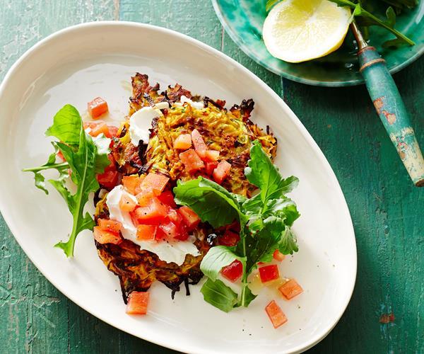 Kumara & zucchini fritters recipe | Food To Love