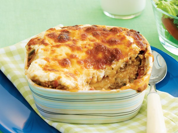 Little beef lasagnes