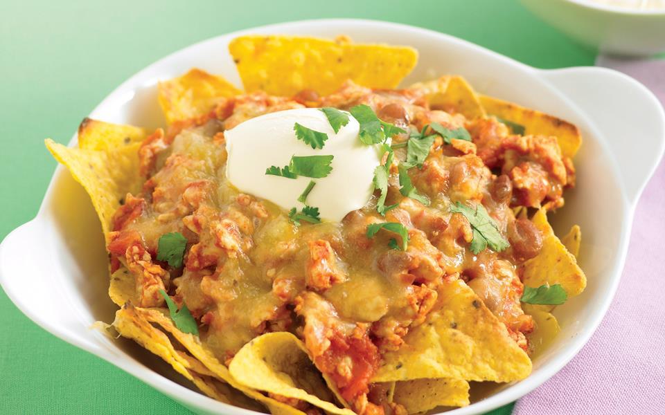 Chicken nachos recipe   FOOD TO LOVE