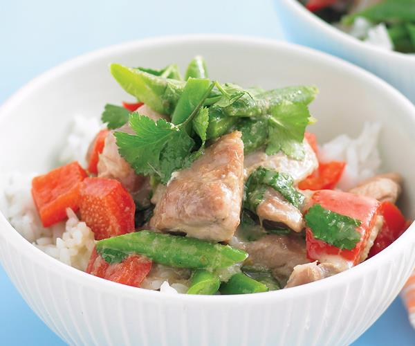 how to prepare green curry chicken