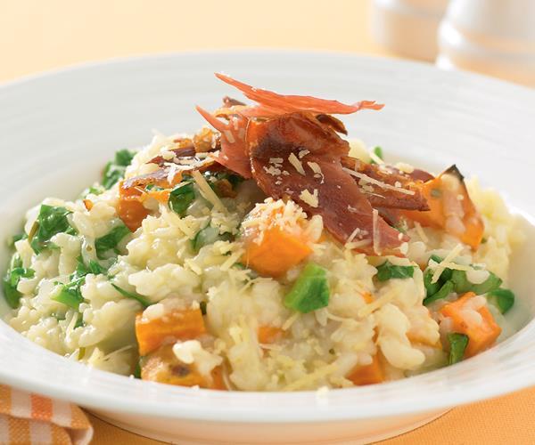 Kumara and rosemary risotto recipe | Food To Love