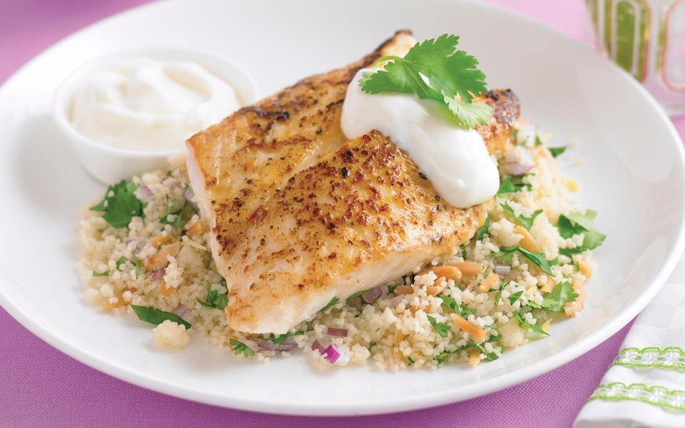 Moroccan fish with couscous recipe food to love for Moroccan fish recipe