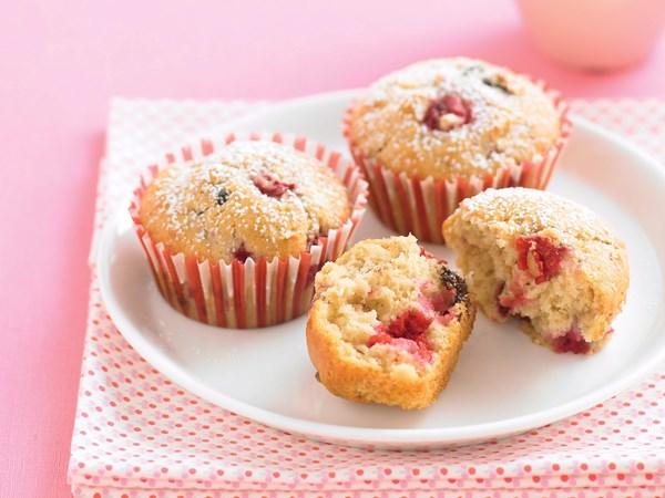 Raspberry and Chocolate Muffins