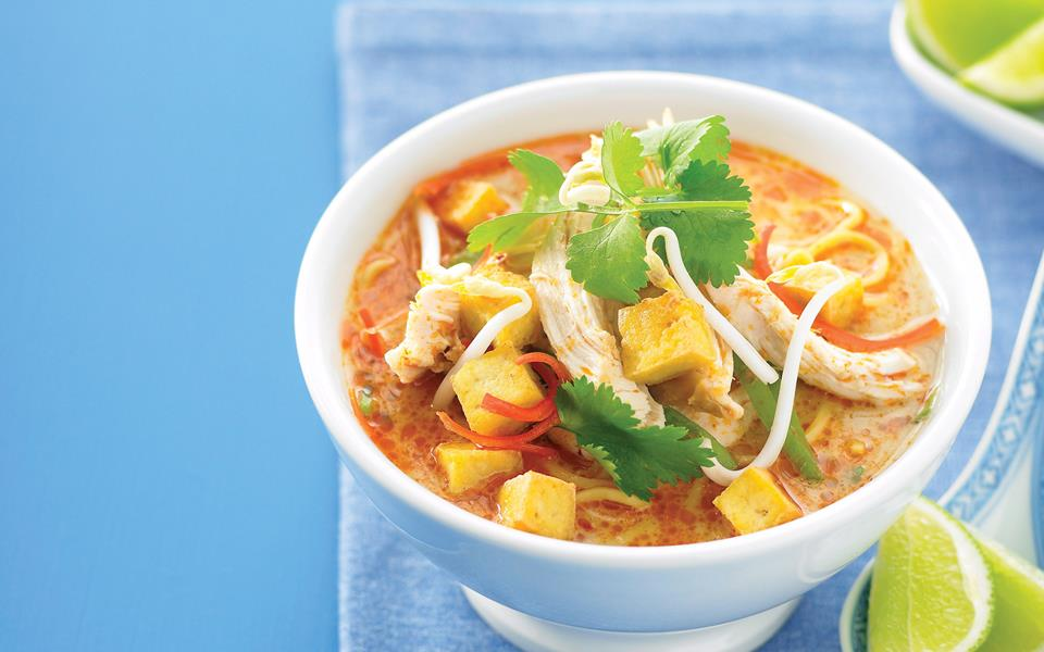 Quick chicken laksa recipe | FOOD TO LOVE