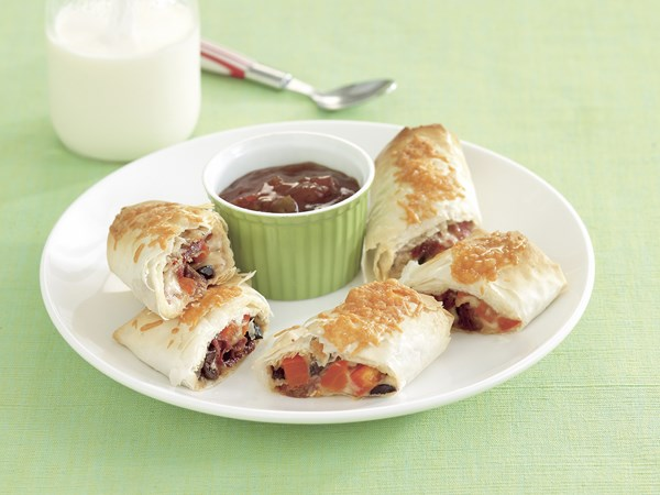 Cheese and Tomato Rolls
