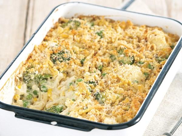 Soy macaroni cheese