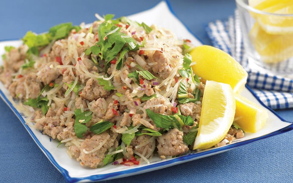 Pork larb stir-fry recipe   FOOD TO LOVE