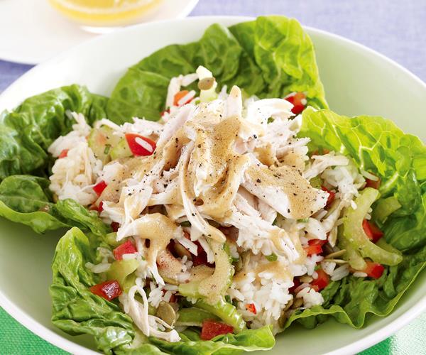 Orange chicken and pepita salad recipe | Food To Love