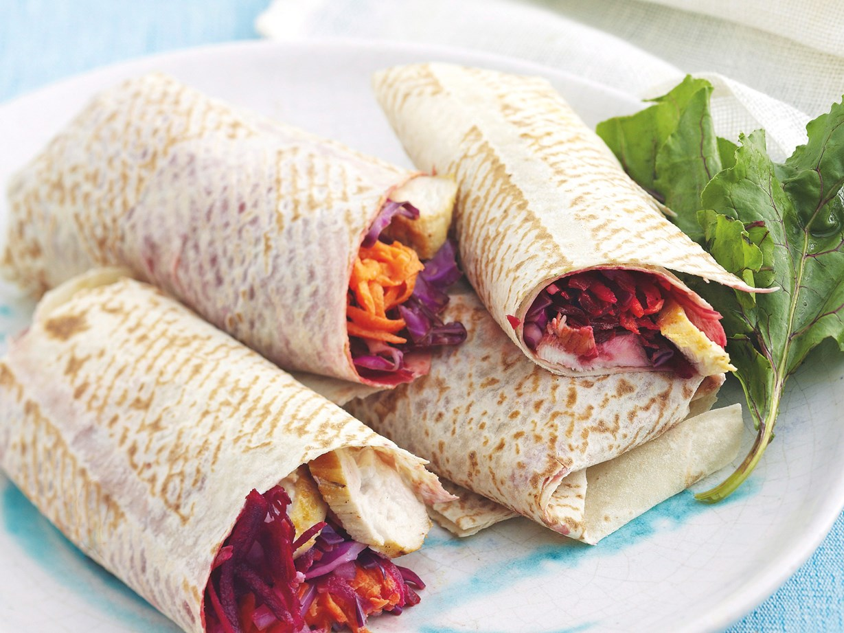 Easy wrap recipes to try for lunch
