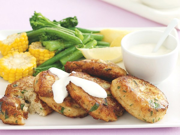 Crab Cakes with Aioli