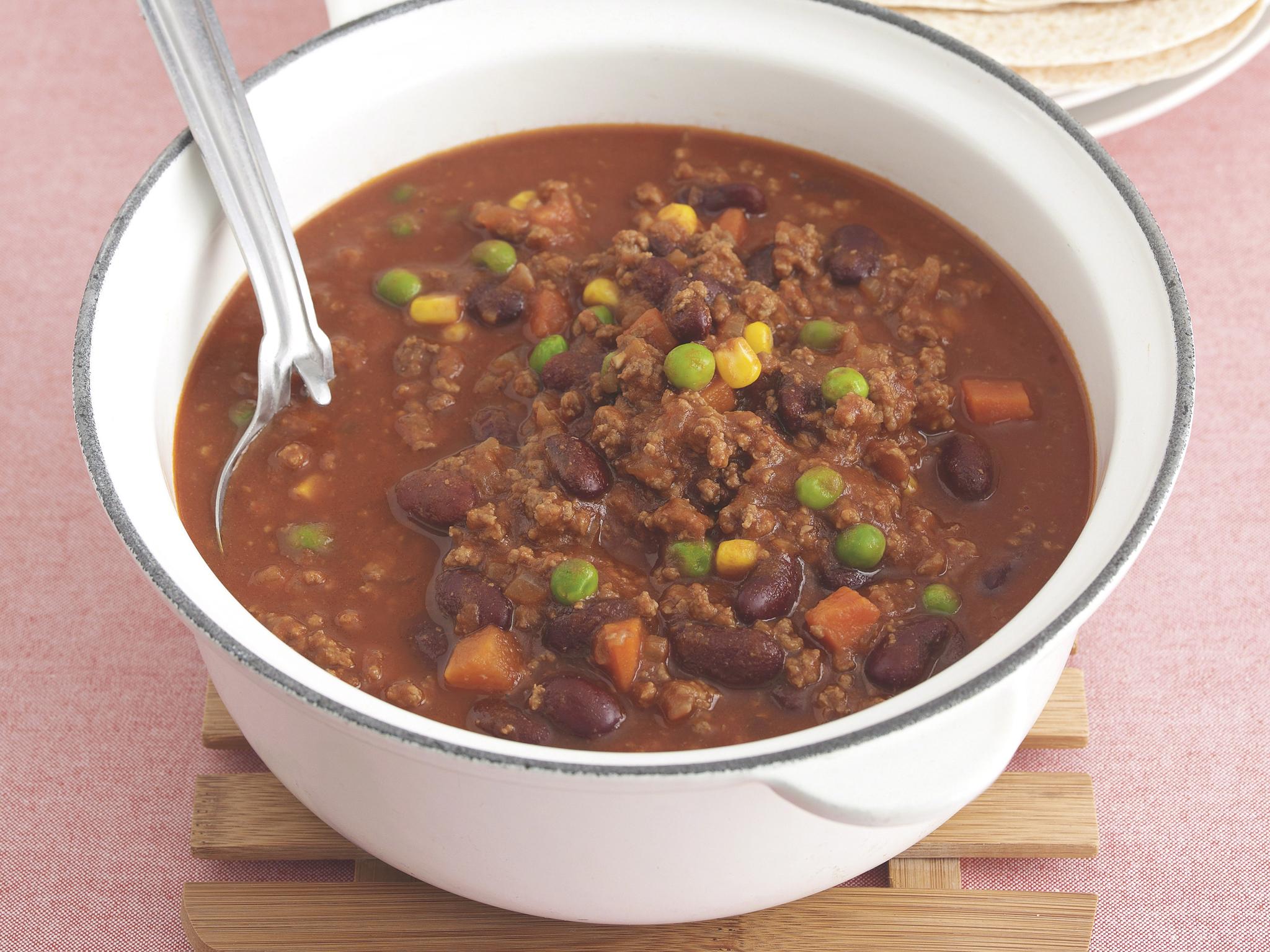 One-pot wonder chilli