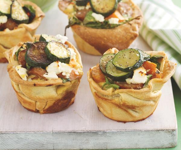 Kumara and sausage tarts recipe | Food To Love