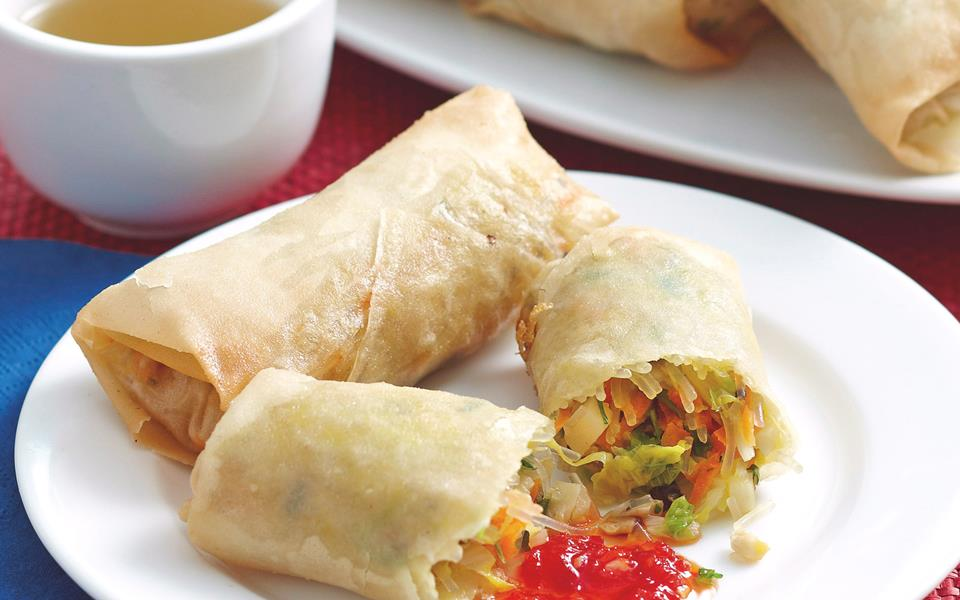 Vegetable spring rolls recipe | FOOD TO LOVE