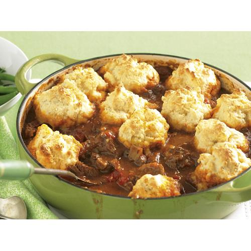 Beef goulash with cheese dumplings recipe | Food To Love
