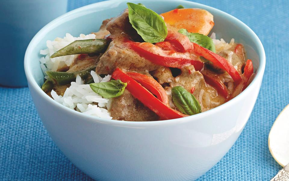 Thai red beef curry recipe | FOOD TO LOVE
