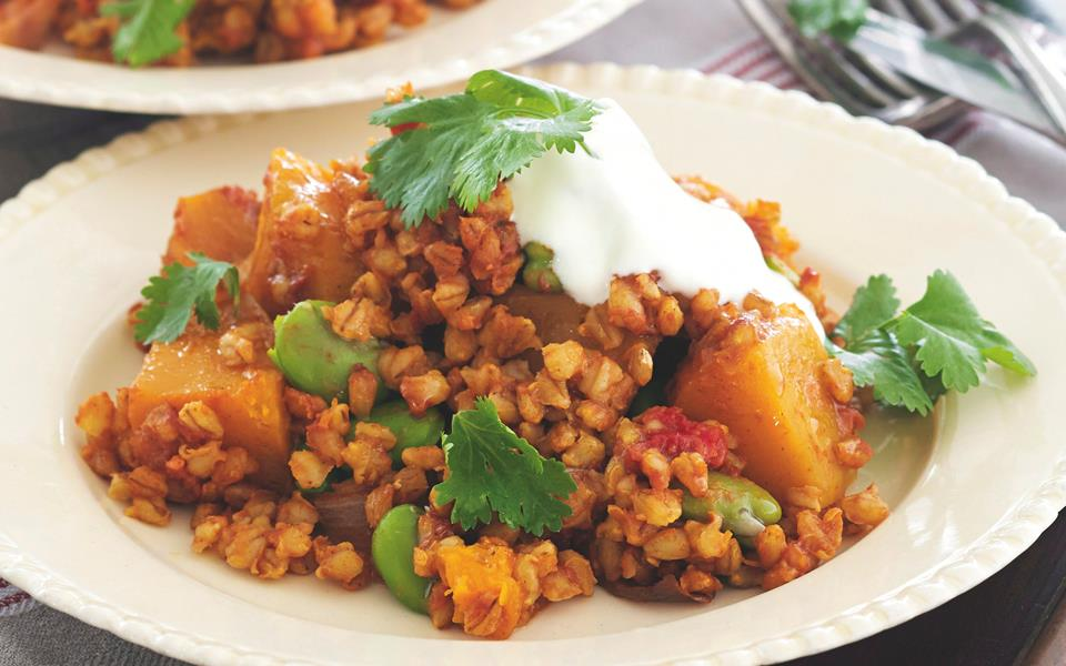 Moroccan barley and vegetable tagine recipe | FOOD TO LOVE