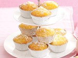 Coconut and lemon cupcakes