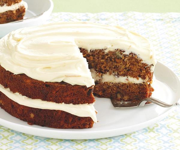 Kumara Cake With Cream Cheese Icing