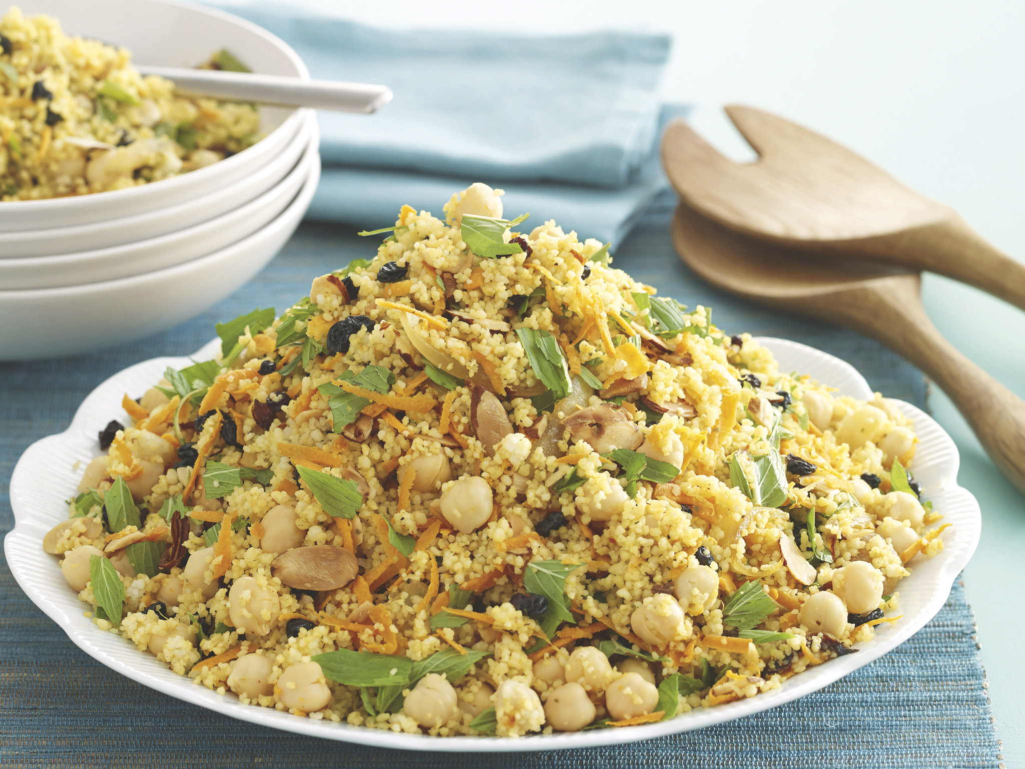 Spiced Couscous and Chickpea Salad Recipe recommend