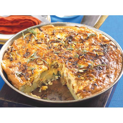 Spanish tortilla with spiced potato recipe | Food To Love