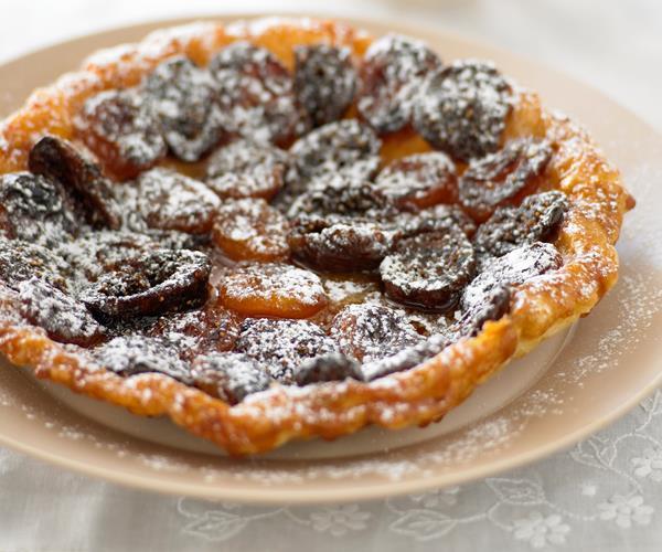 Apricot and fig tarte tatin recipe | Food To Love