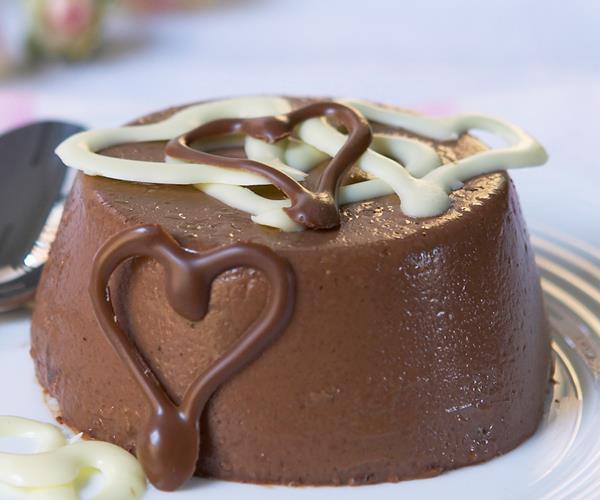 chocolate panna cotta recipe food to love. Black Bedroom Furniture Sets. Home Design Ideas