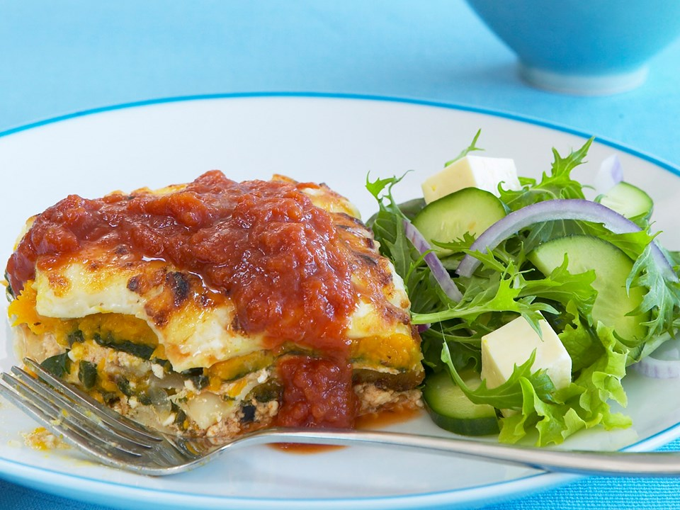 how to add cottage cheese to lasagna