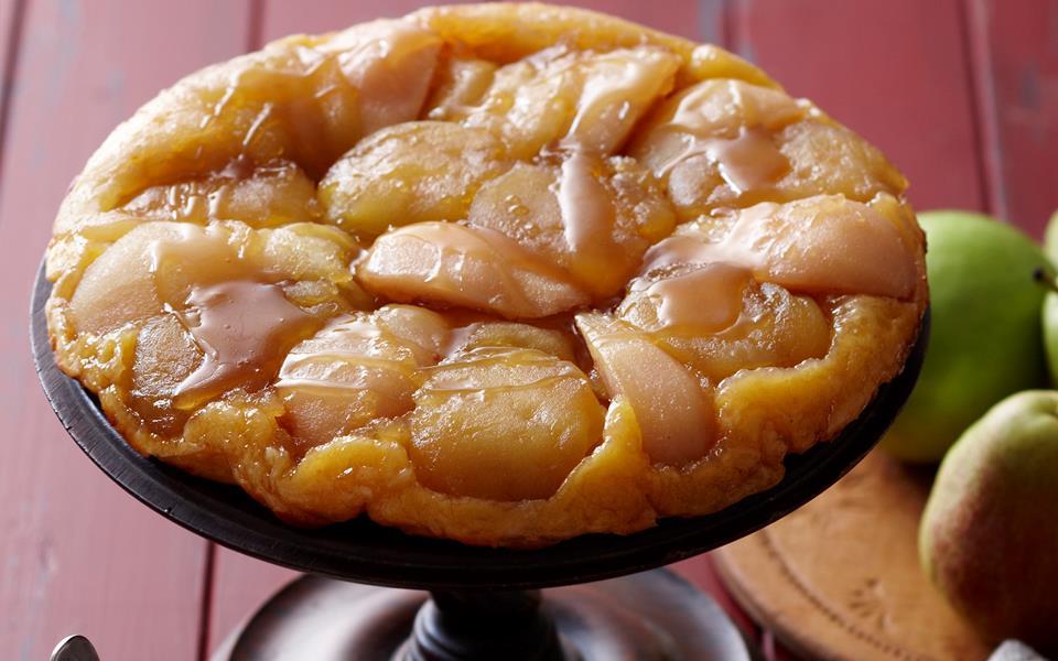 Apple and pear tarte tatin recipe | FOOD TO LOVE