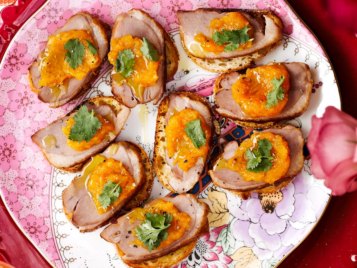 Рецепт утка с мандаринами