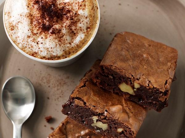 Easy chocolate brownies