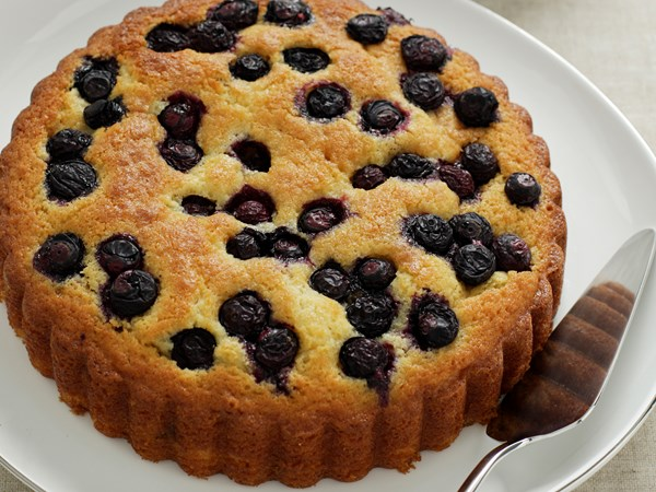 Orange and Blueberry Cake