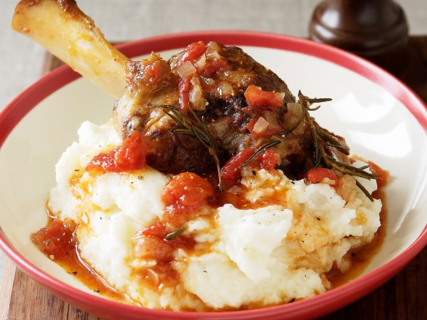 Slow-Cooked Lamb Shanks