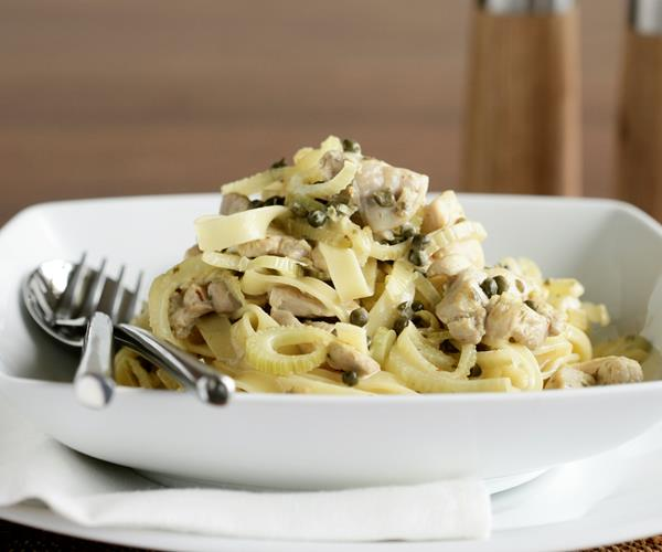 Fettuccine with chicken, fennel and lemon recipe | Food To ...
