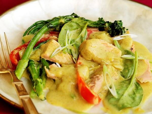 Easy tuna curry
